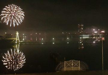 Silvester Feuerwerk Schlei