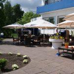 Terrasse Akzent Hotel Restaurant Strandhalle